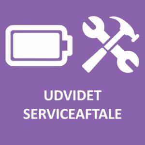 Udvidet serviceaftale