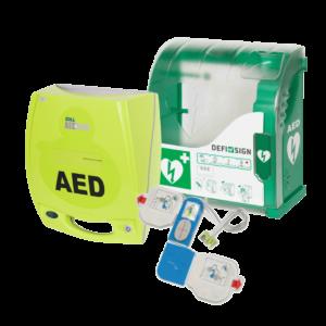 Zoll AED plus med udendørs Defisign 200 skab