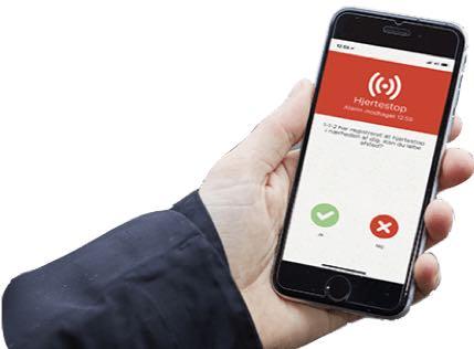 Trygfonden hjertestarter app