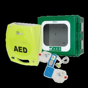 Zoll AED plus med udendørs ARKY hjertestarterskab