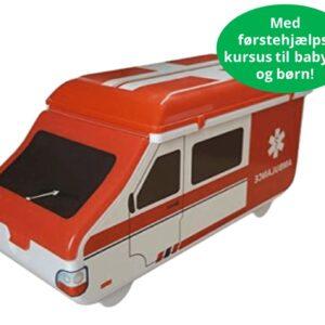 Førstehjælpsambulancen med førstehjælpskursus til børn